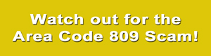 809-scam-text